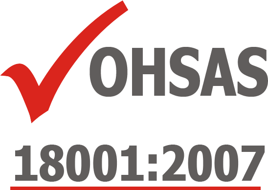 Achieves OHSAS 18001:2007 Certification